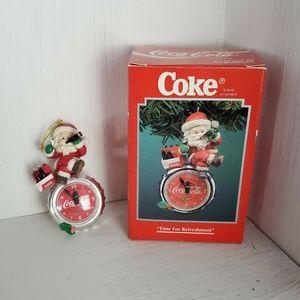 VIntage Coke Coca Cola Christmas Ornament 1995